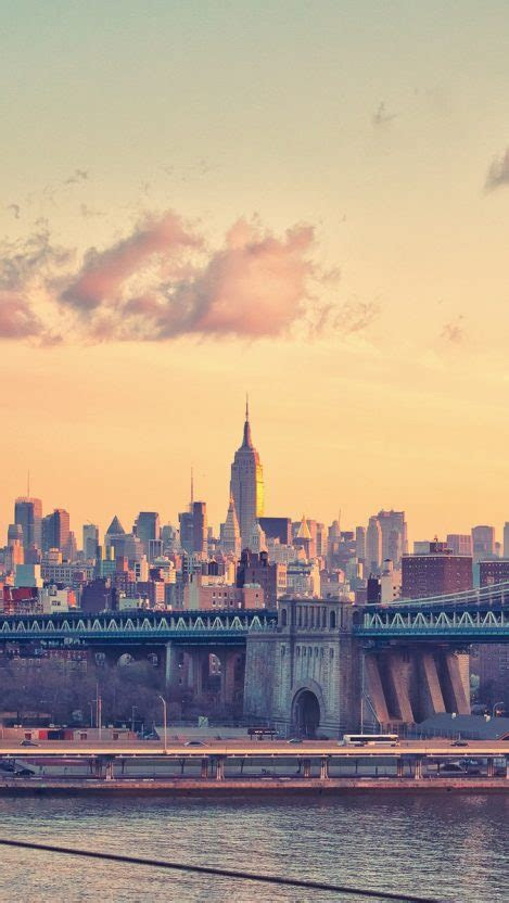 york manhattan bridge iphone wallpaper iphone wallpapers