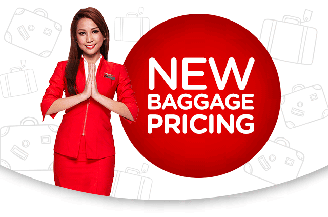 Revision in Baggage Pricing