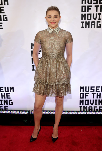 Chloe Grace Moretz Chloe Grace Moretz attends the Museum of The Moving Image honors Julianne Moore at 583 Park Avenue on January 20, 2015 in New York City.