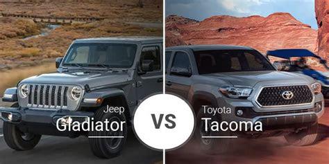 jeep gladiator  tacoma  car reviews cars