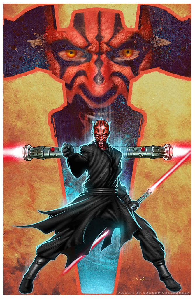 Darth Maul by Carlos Valenzuela