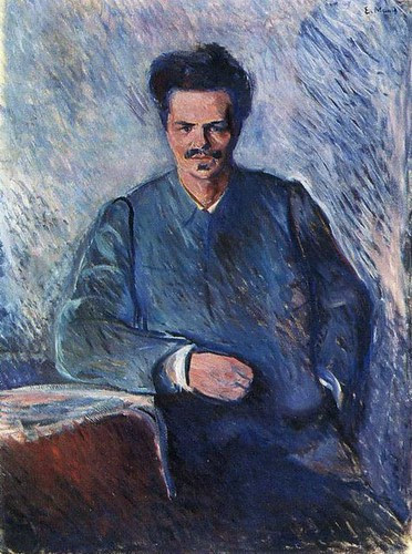 Edvard Munch, August Strindberg, 1892 by kraftgenie