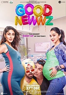 Good Newwz Hindi Movie Leaked Online by Tamilrockers for Free Download