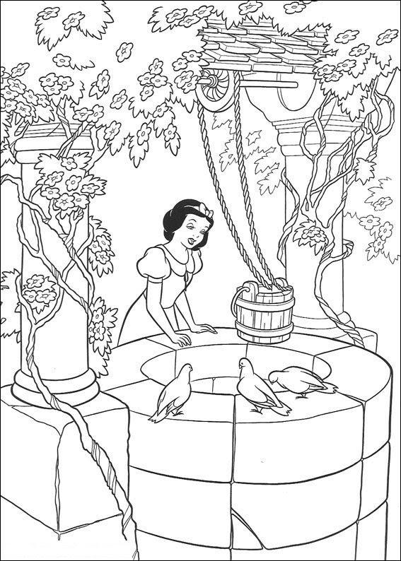 Malvorlage - Disney prinzessinnen ausmalbilder qrgom