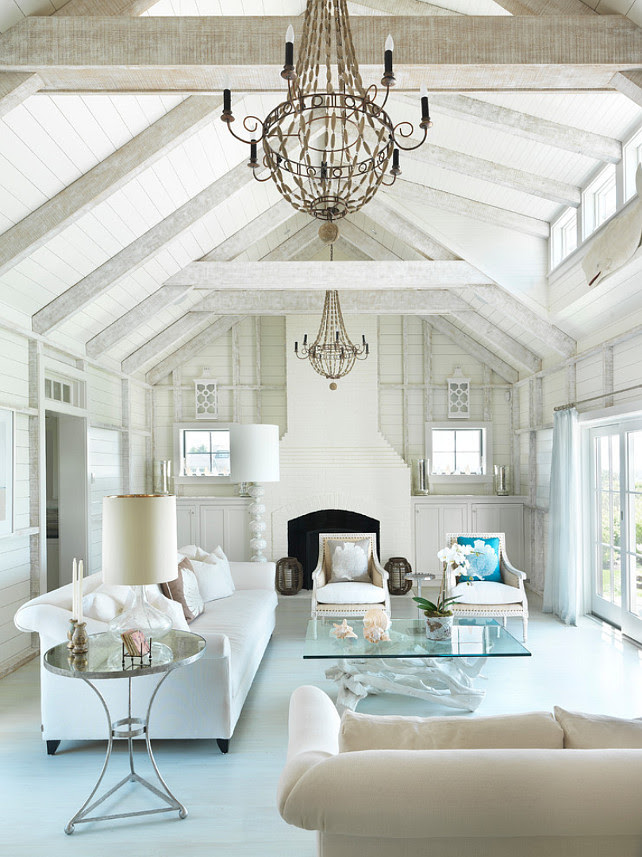 Suggestions on choosing interior paint colors for post and beam homes.