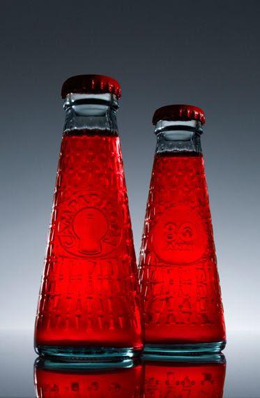 ~~ Campari soda *80 Years bottle. by Fortunato Depero and Matteo Ragni ~~