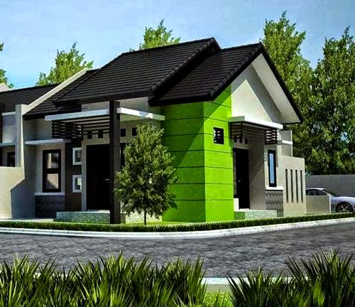 10 Kombinasi Warna Cat Rumah Hijau Untuk Rumah Minimalis