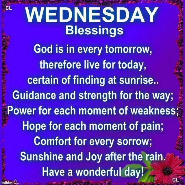 Wednesday Blessings Traffic Club
