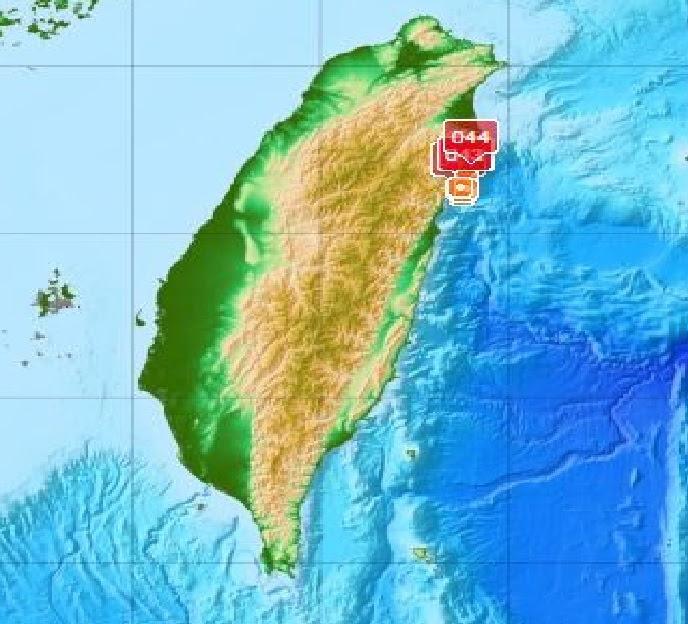 tremblement de terre essaim taiwan 28 avril 2016, tremblement de terre essaim frappe taiwan avril 2016, tremblement de terre essaim taiwan orientale, 24 tremblements de terre ont frappé taiwan orientale, taiwan 32 tremblements de terre avril 2016