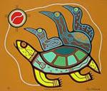 el arte de los indios canadienses