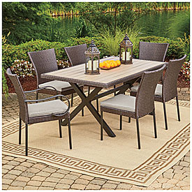 Wilson & Fisher® Hyde Park 7-Piece Dining Set | Big Lots