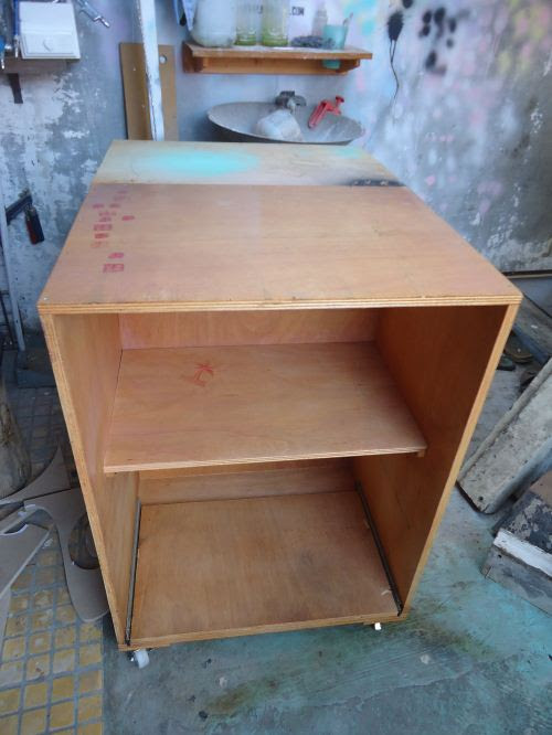 Meja dorong sederhana Pakeotac Pakeotac DIY PROJECTS