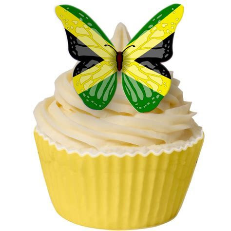 Jamaican Cupcake cake topper   Food!!!   Cake decorating