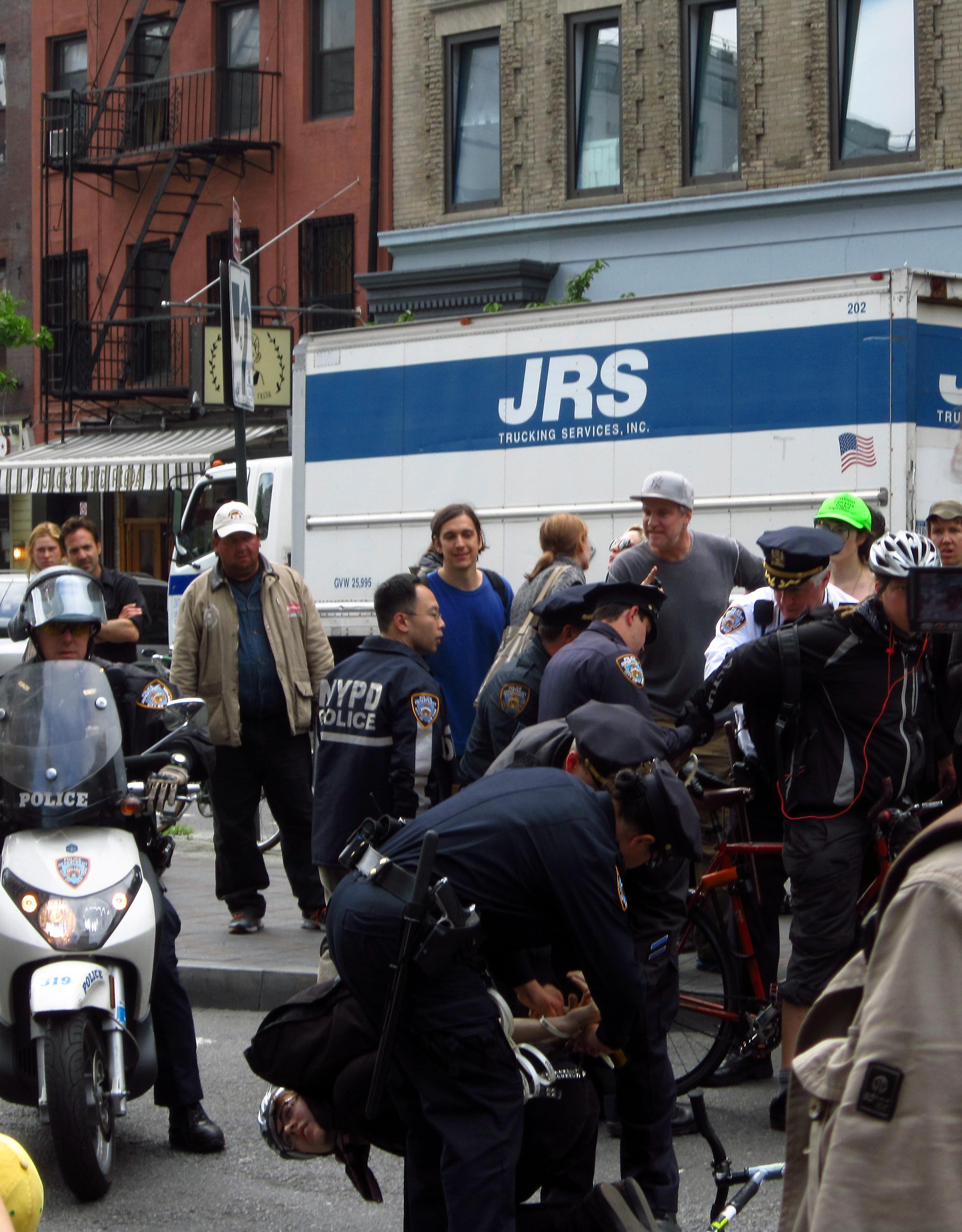 Police arrest 2 cyclists