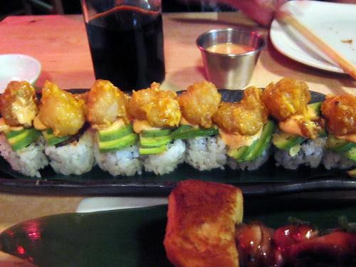 rock shrimp maki