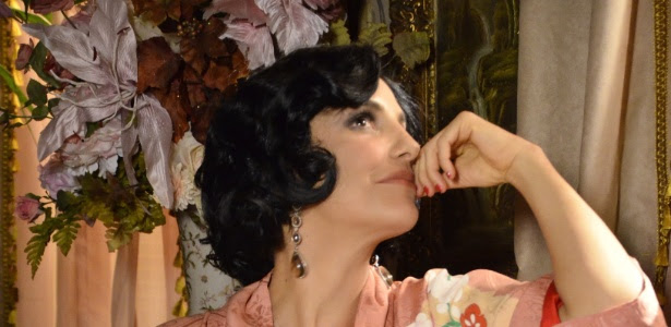 """Ivete Sangalo caracterizada como a cafetina Maria Machadão, de """"Gabriela"""" (26/04/2012)"""