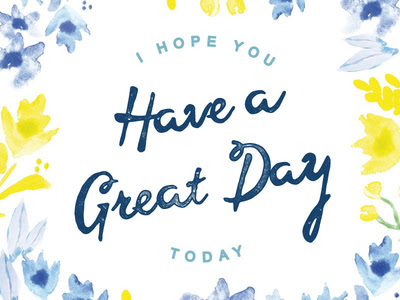 Today Is A Great Day Inspiration Club