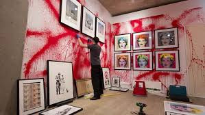 Banksy Street Art, Sotheby's London, Banksy Exhibition, Art News, Art Info, Street Art by Banksy, Miami Art Scene