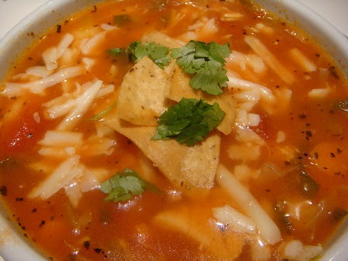 Not Quite Vintage: Chicken Tortilla Soup