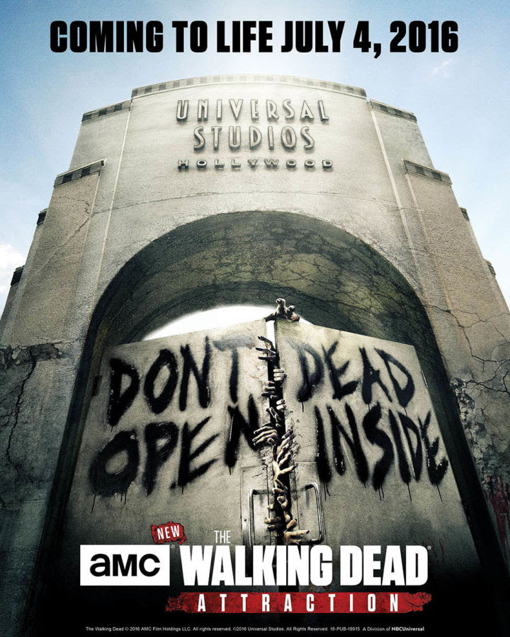 The Walking Dead Attraction teaser and poster released