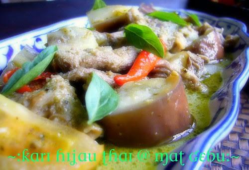Kari Hijau Thai