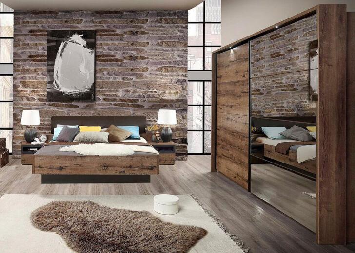 Schlafzimmer Komplett Set 4 Teilig Grau Gnstig Online ...