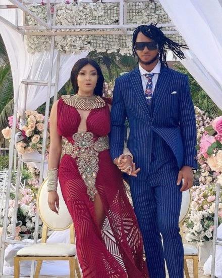 Angela Okorie Marries Her Fiance In A Romantic Beach Wedding (Photos)