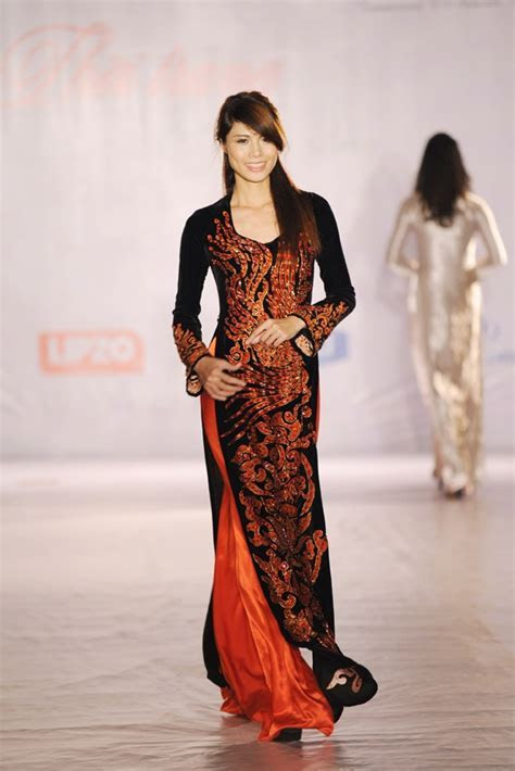 240 best images about Traditional Ao Dai on Pinterest   Ao