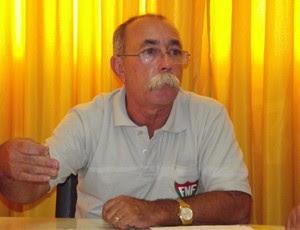 Coronel Ricardo Albuquerque, presidente da Comissão de Arbitragem da FNF (Foto: Jocaff Souza)