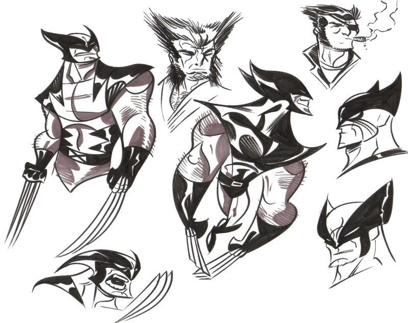 Dibujo Para Colorear Wolverine 7