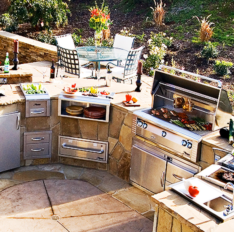 Gas Grills by Alfresco - Paradise Outdoor Kitchens ...