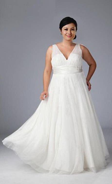 Wedding dresses for heavy women