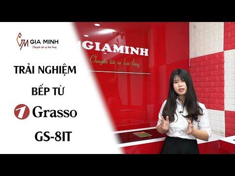 Trải nghiệm thực tế chiếc bếp từ 2 vùng nấu Grasso GS 8IT