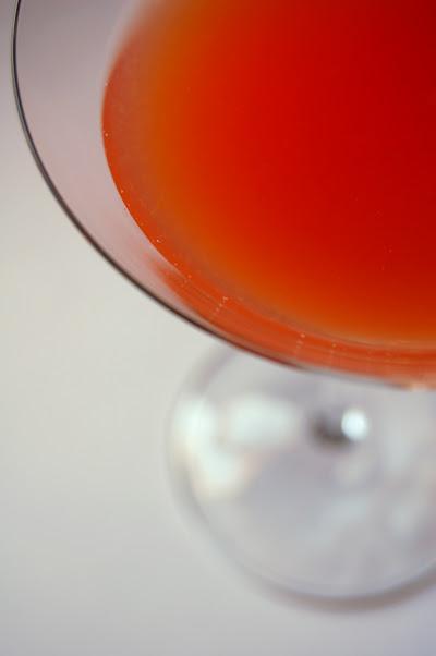 Blood Orange Martini ©