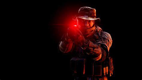 wallpaper battlefield  red dot sight pistol soldier