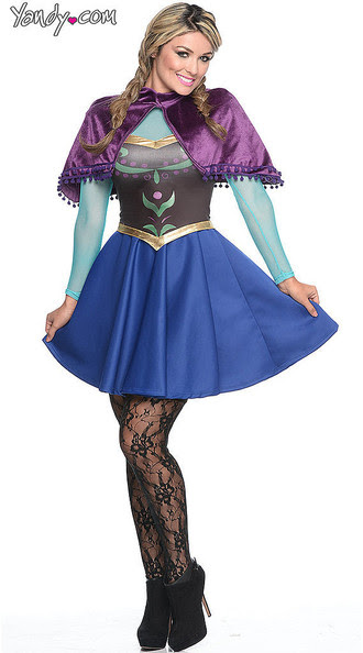 There Will Probably Be This Sexy 'Frozen' Character at Your Halloween Party