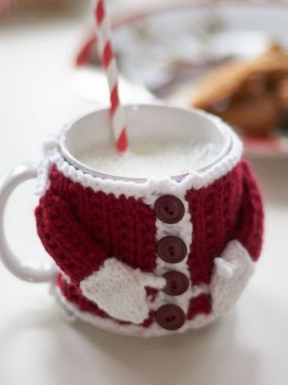 60 Cute And Cozy Knitted Christmas Decorations