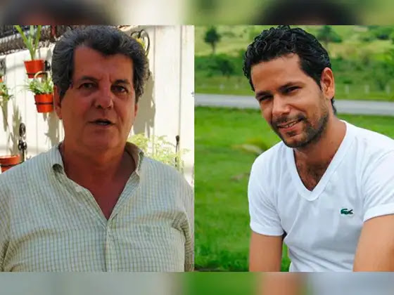 Oswaldo Payá y Harold Cepero. Foto: Twitter / @RosaMariaPaya