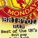 Manchester Mondays event flyer