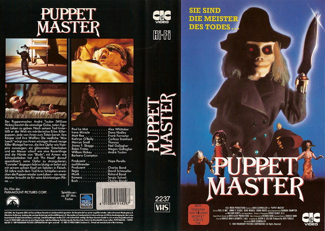 Puppet Master (VHS Box Art)
