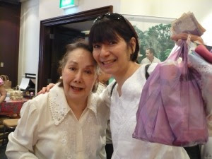 the lovely Ms. Meg Doromel and her Mom :)