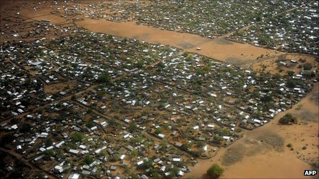 Dadaab refugee camp (13 October 2011)