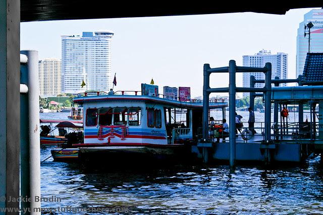 Ferry ride Sathorn Pier