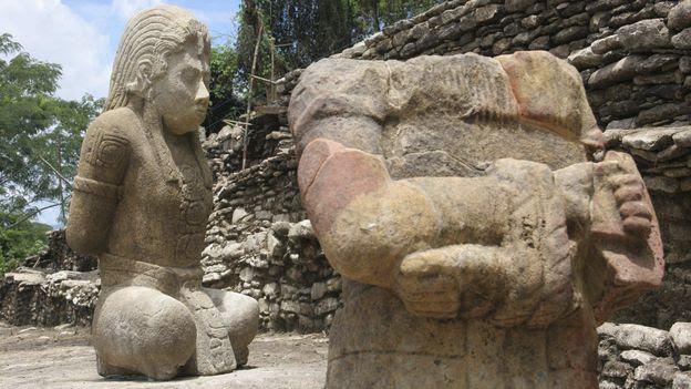 Le site archéologique de Tonina, au Mexique.