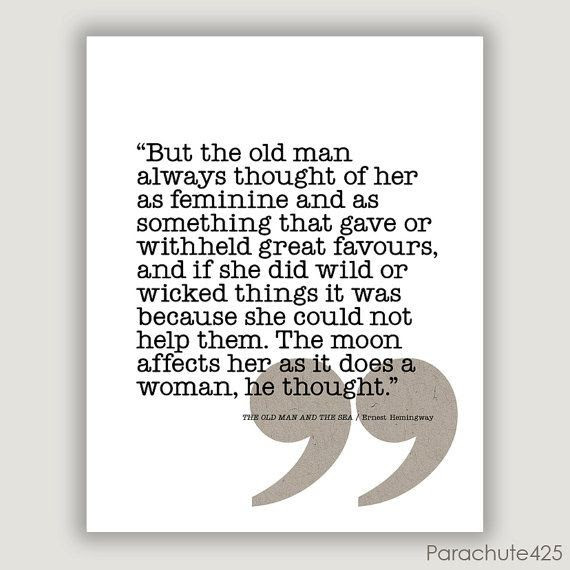 Old Man And The Sea Quote Quote Number 679485 Picture Quotes