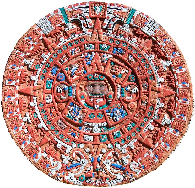 File:Aztec Sun Stone Replica cropped.jpg