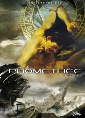 Couverture Prométhée, tome 1 : Atlantis