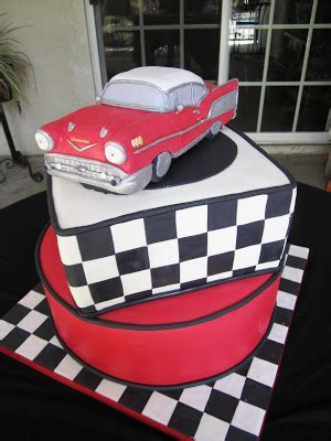 Cakes by Sarah: '57 Chevy Bel Air