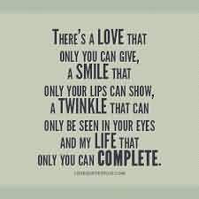 Romantic Love Quote A Love That Only You Can Give Quotespicturescom