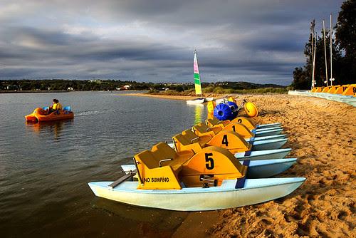 Lakes Entrance, Victoria, Australia, paddle boats IMG_3336_Lakes_Entrance